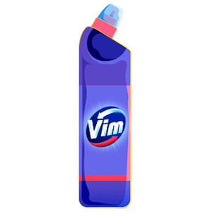 Vim bottle